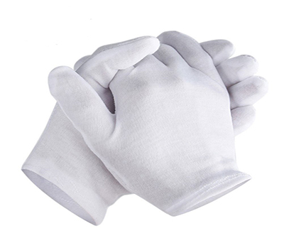 Raw Cloth Gloves