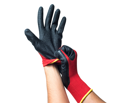 Nitrile Covering Gloves