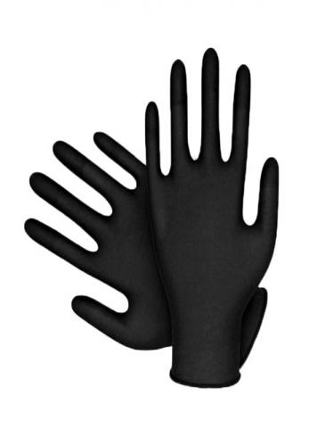 Handy Siyah Nitril Eldiven